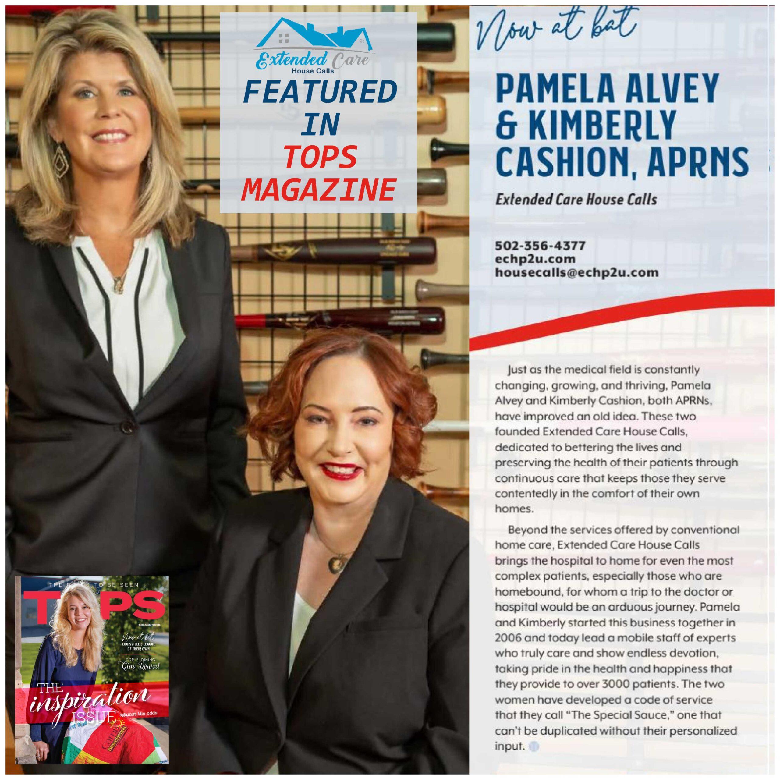 ECHC featured in TOPS Magazine
